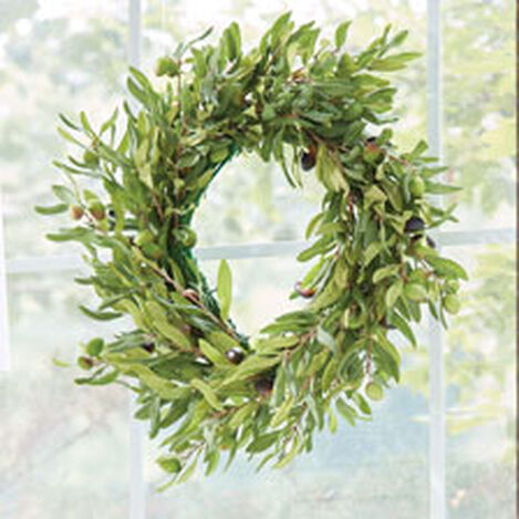 "20"" Olive Wreath Product Tile Hover Image 442240"