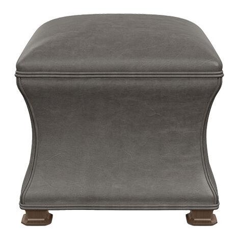 Corbin Leather Ottoman Product Tile Image 727395