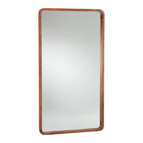 Hudson Wooden Floor Mirror Product Tile Image 074507