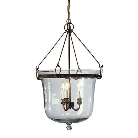 Glass Cloche Chandelier Product Tile Image 093673