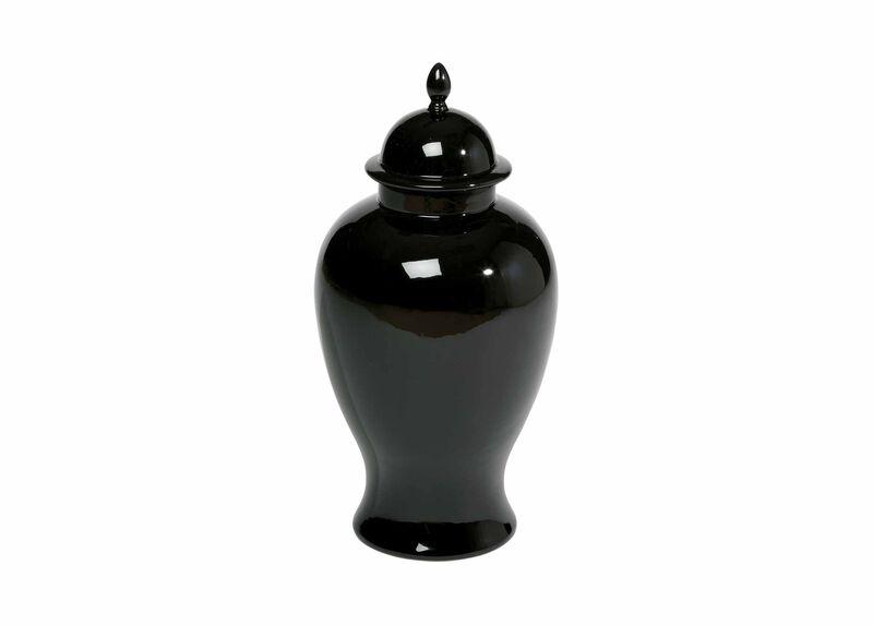 Large Black Temple Jar ,  , large_gray