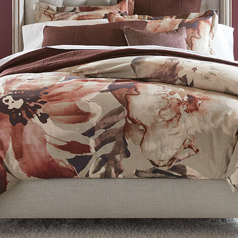 Zennie Floral Duvet Cover and Shams Product Tile Hover Image ZennieFloral