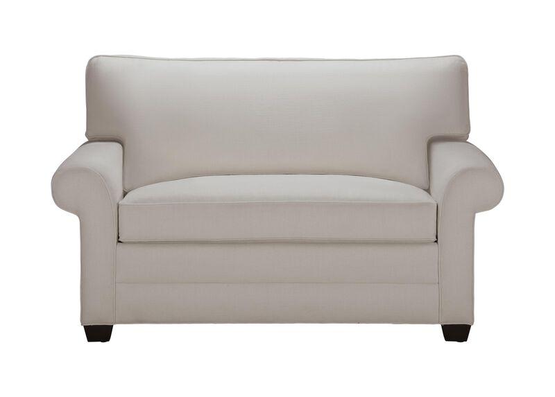 Bennett Roll-Arm Chair-and-a-Half Twin Sleeper