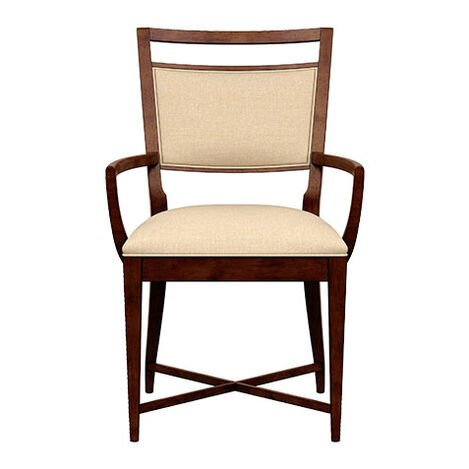 Grady Upholstered Back Armchair ,  , large