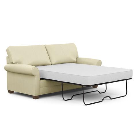 Bennett Roll-Arm Leather Full Sleeper Product Tile Hover Image 737882