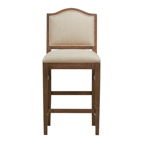 Hayden Counter Stool,  Arched Top and Tapered Leg Product Tile Image 207186