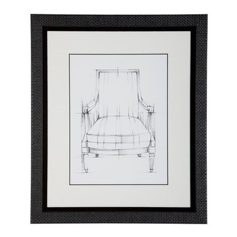 Historic Chair Sketch Xii Product Tile Image 071046L