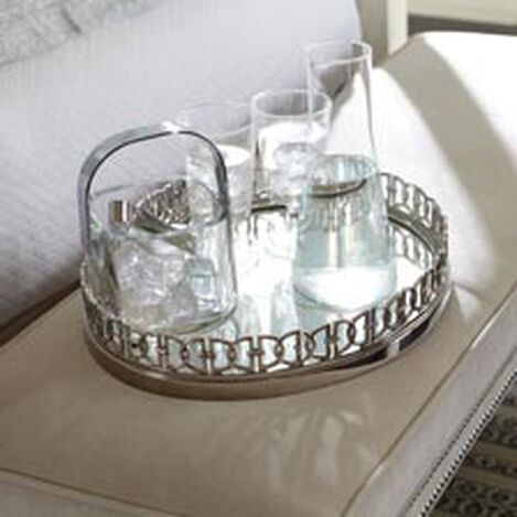 Pleasing Ottoman Trays Decorative Serving Trays Ethan Allen Home Interior And Landscaping Ologienasavecom