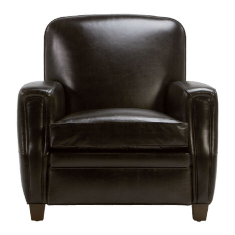 Dean Leather Chair, Anson Black Product Tile Image 822061 L9656