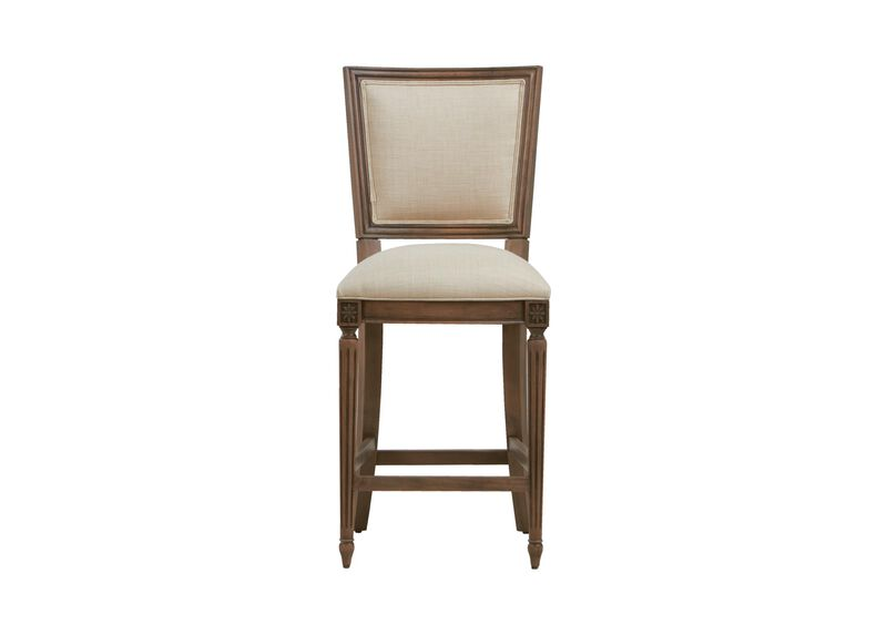 Marcella Square Back Counter Stool