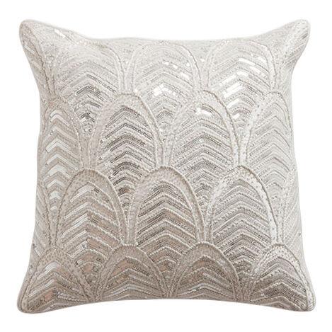 Art Deco Beaded Pillow ,  , large