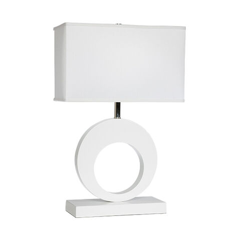 Charley White Table Lamp ,  , large