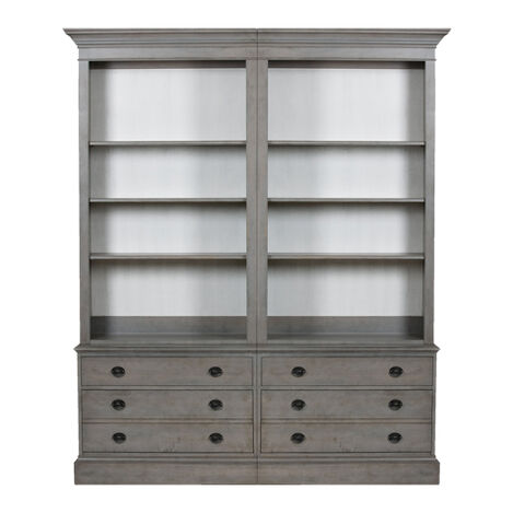 Villa Double File Bookcase ,  , large