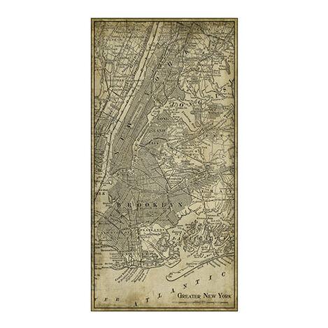 NYC Map I Vintage Product Tile Image 1124635
