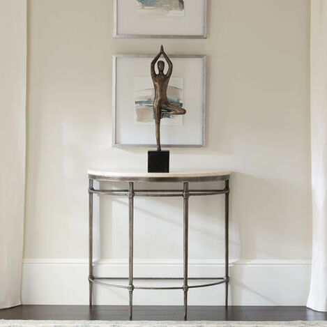 Vida Stone-Top Demilune Console Product Tile Hover Image 138347S  127