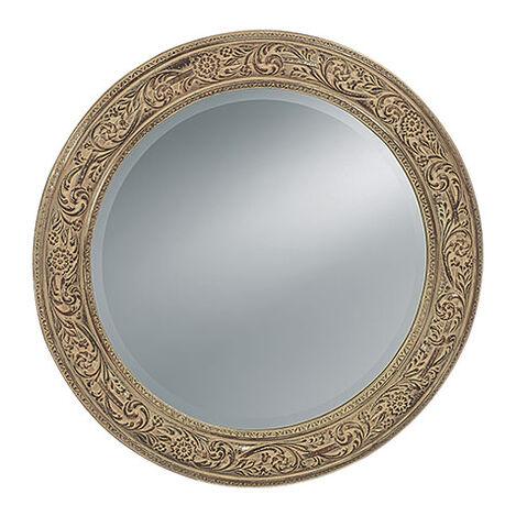 Ornately Framed Mirror ,  , large
