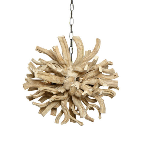 Small Minetto Wood Chandelier Product Tile Image 090536