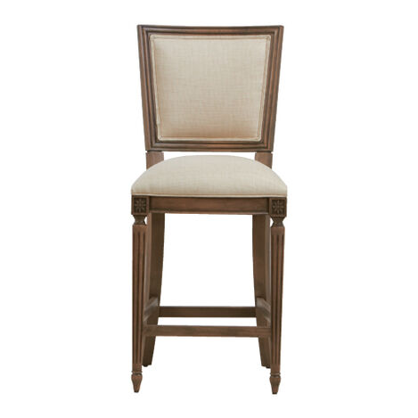 Marcella Square Back Counter Stool ,  , large