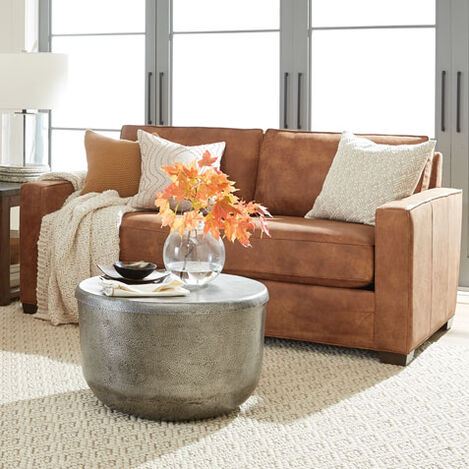 Spencer Track-Arm Leather Sofa Product Tile Hover Image spencerTAsofaLTH