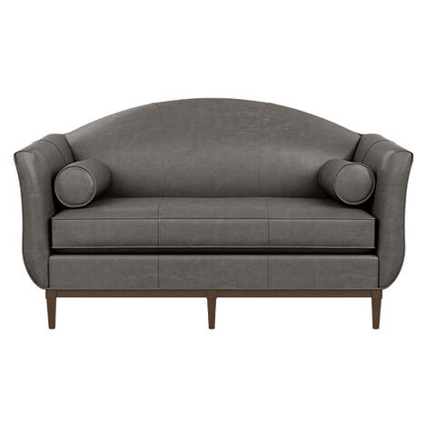 Audrey Leather Loveseat Product Tile Image 722070