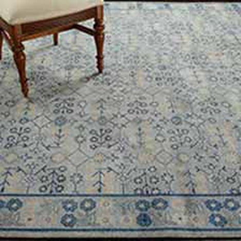 Khotan Rug, Gray/Blue Product Tile Hover Image 041517