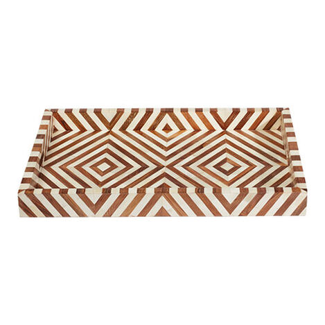 Ellis Wood and Bone Tray Product Tile Image 432417