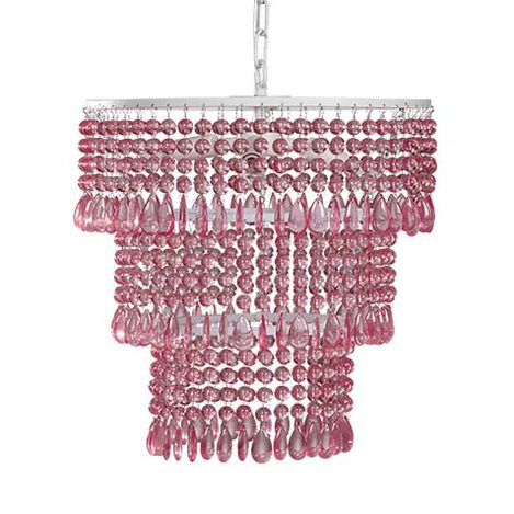 Boho Beaded Chandelier ,  , large