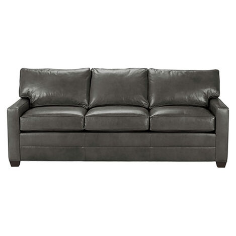 Bennett Track-Arm Leather Sofa, Quick Ship ,  , large