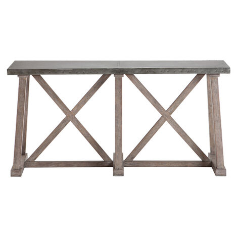 Bruckner Metal-Top Console Table Product Tile Image 128528Z