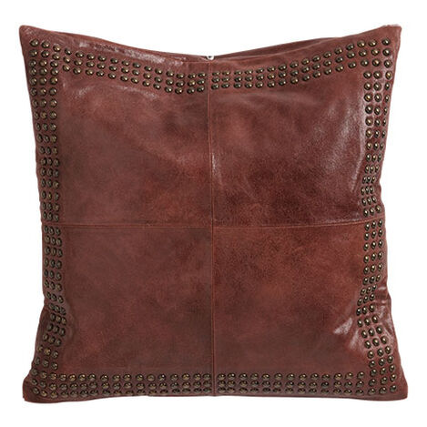 Worn Leather Pillow Product Tile Image 065703MST