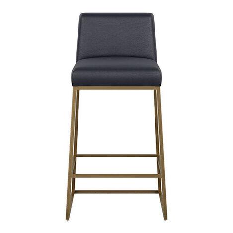 Jewel Metal Base Leather Counter Stool Product Tile Image 712513
