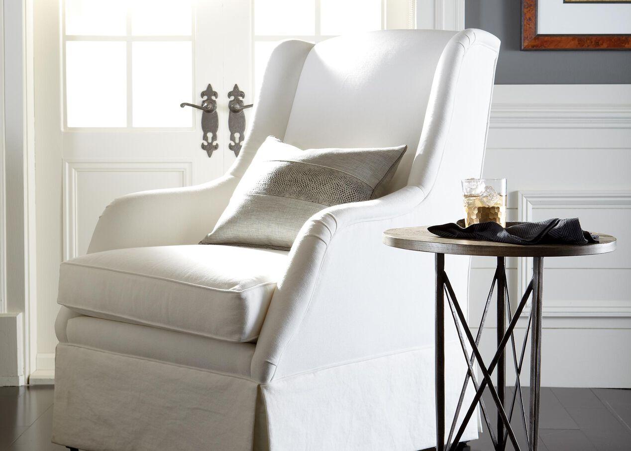 Sinclair Skirted Chair   Chairs & Chaises   Ethan Allen