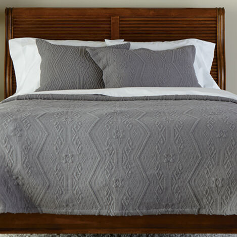Declan Textured Coverlet and Shams ,  , large