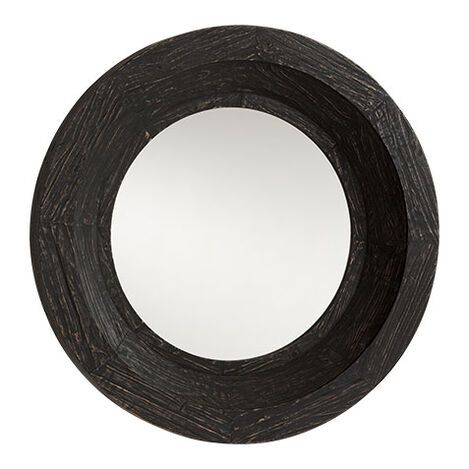 Antique Black Reclaimed Mirror Product Tile Image 074423B
