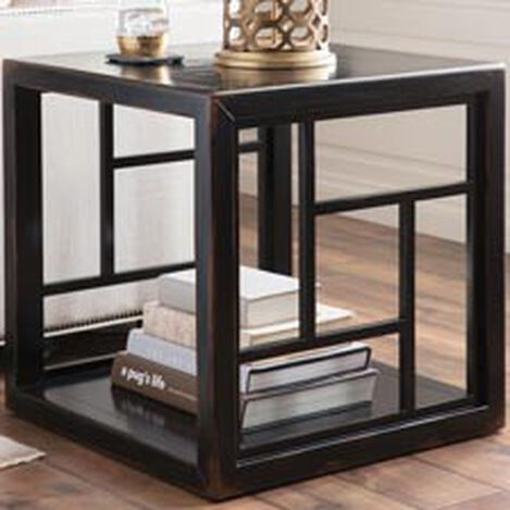 Dynasty Fretwork Side Table ,  , hover_image