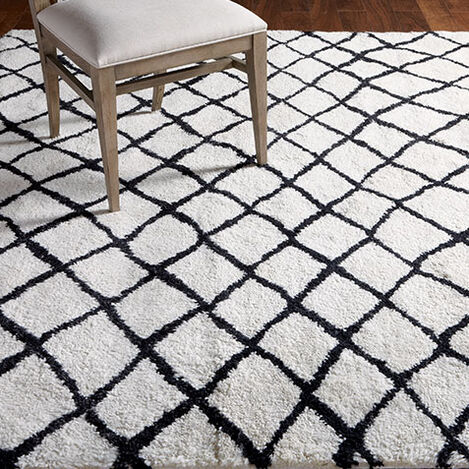 Coaxial Rug, Ivory/Black Product Tile Hover Image 041558