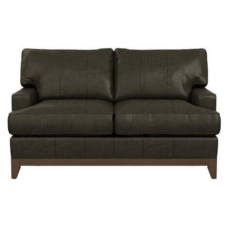 Arcata Leather Loveseat Product Tile Image 722112
