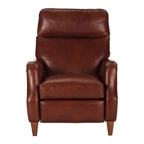 Aiden Leather Recliner, Old English/Saddle Product Tile Image 837965 L7172