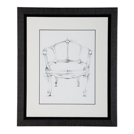 Historic Chair Sketch Xi Product Tile Image 071046K