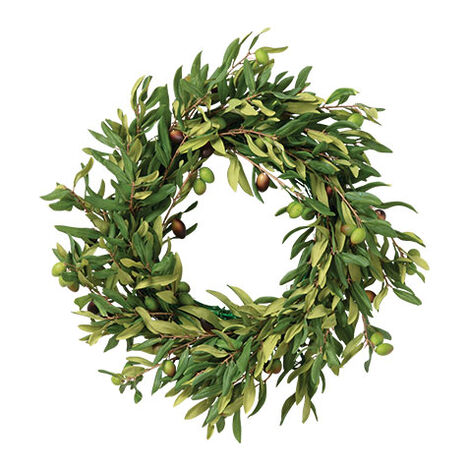 "20"" Olive Wreath Product Tile Image 442240"