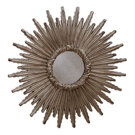 Miroir en forme d'étoile argentée 61cm Product Tile Image 074078B