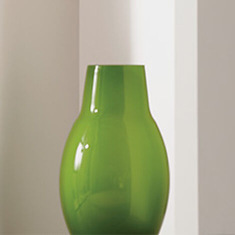 Ensemble Painted Vase, Green Product Tile Hover Image 430601   GRN