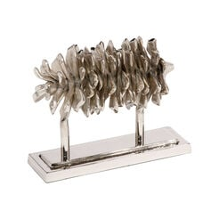 Nickel Pine Cone on Stand ,  , large