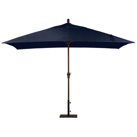 Indigo Rectangular Market Umbrella, Onyx ,  , large