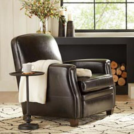 Dean Leather Chair, Anson Black ,  , hover_image
