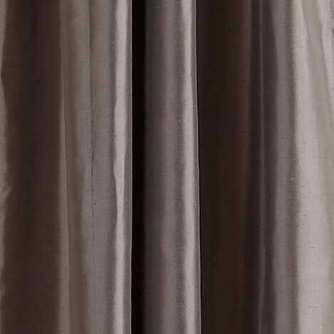 Charcoal Satin Dupioni Fabric ,  , large