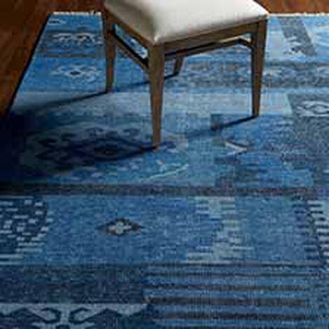 Patchwork Rug, Blue ,  , hover_image