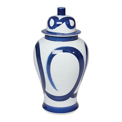 Blue and White Brushstroke Jar Product Tile Image 432089