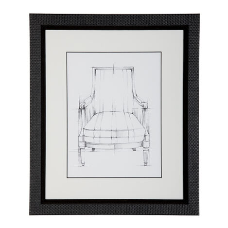 Historic Chair Sketch XII ,  , large
