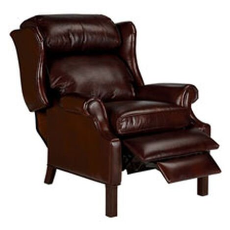 Townsend Leather Recliner, Old English/Chocolate ,  , hover_image